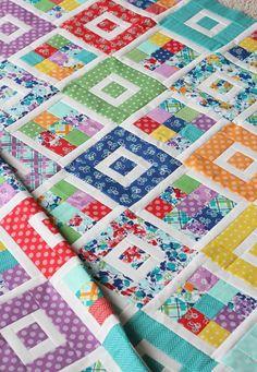 Shortcake Quilt Pattern, Jelly Roll Friendly