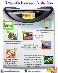 #tips efectivos #perder #peso #alimentos #nutricion #saludable #salud #natural