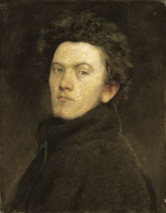 Székely, Bertalan | Self-Portrait | 1860 | Oil , Canvas 60,5 x 47,5 cm | Inv.: 7588