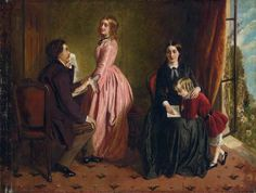 The Governess, ca. 1854 | In the Swan's Shadow