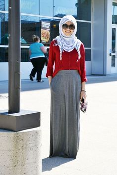 I feel like I would have worn another Hijab