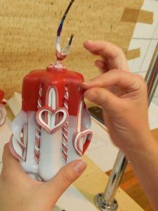 carved candles how its made | Hand Carved Candles from Poland ...