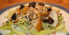 Fig, Pear, & Walnut Salad