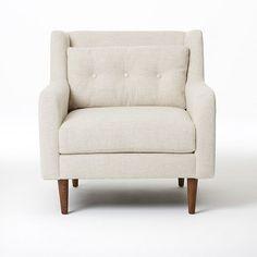 FAVORITE Crosby Armchair - Solids | west elm - $749 – $899