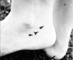 Tiny bird tattoo                                                                                                                                                      More