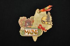 Maine State Tag