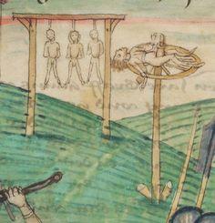Diebold Schilling, Amtliche Berner Chronik, Bd. 1 Bern · 1478-1483 Mss.h.h.I.1  Folio 200