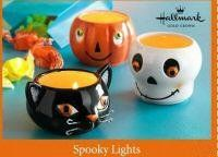 3 hallmark halloween tea light candles - Hallmark Halloween Decorations