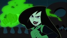 Shego (Kim Possible, Heroes Disney, Disney Villains, Kim Possible Shego, Superman Story, Cartoon Profile Pictures, Cartoon Images, T Shirt Painting, Sheego, Vintage Cartoon