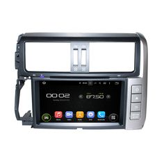 Fit for toyota PRADO LC150 2010-2013 Android 5.1.1 system HD 1024*600 car dvd player gps navigation radio 3G wifi bluetooth
