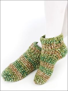Comfy Serenity Slippers: free pattern