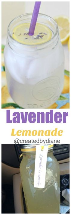 lavender simple syrup sweetens up fresh squeezed lemons for this super-delicious lemonade recipe.