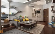 Stylish Small Apartment interior 4