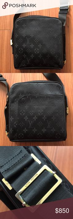 Louis Vuitton Messenger Bag Pre-loved, authentic Louis Vuitton monogram messenger bag in black. Slight signs of wear on the hardware but overall in excellent condition. Lost proof of authenticity during a move, but Poshmark Concierge can authenticate the bag. Louis Vuitton Bags Crossbody Bags