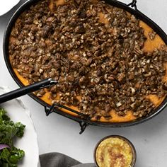 Roasted Sweet Potato Casserole with Praline Streusel Recipe - Country Living