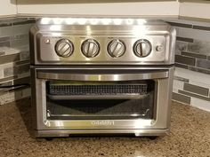 Cuisinart 1800W Large Air Fryer Toaster Oven - Refurbished #Cuisinart Chinese Recipes, Chinese Food, Large Air Fryer, Breakfast Recipes, Dinner Recipes, Slice Of Bread, Kitchen Essentials, Other Recipes, Toaster