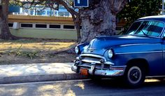 Classic Car: Cuba is full of cool old cars like this 1950 Chevy.