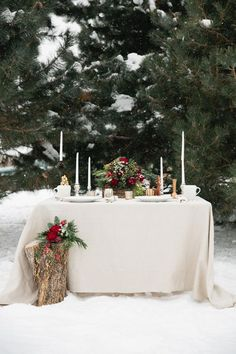 Snippets, Whispers and Ribbons – 5 Magical Winter Wedding Tablescapes