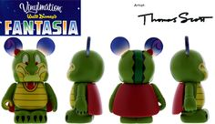 Ben Ali Gator (LE 2000) by Thomas Scott #Vinylmation #fantasia #Disney