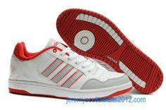 Adidas Hoepel White Red Grey