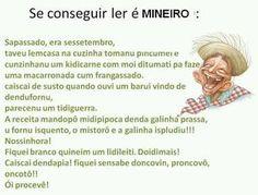 HUMOR: COISAS DE MINEIRO - News Rondônia