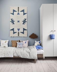 Kelim rug and cushions from ferm LIVING: http://www.fermliving.com/webshop/shop/news.aspx