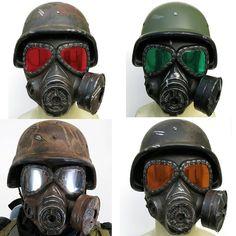 Fallout New Vegas NCR Ranger Helmet & Gas Mask