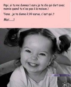 Papy, si tu me donne 1 euro je te dis qui dort avec mamie - Haus Best Quotes, Funny Quotes, Funny Memes, Hilarious, Euro, Funny Stories, True Stories, English Jokes, Funny French