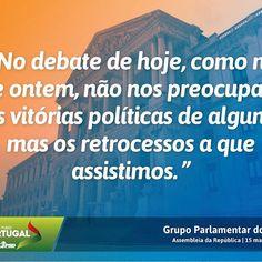 Palavras do Grupo Parlamentar do Partido Social Democrata no debate do Orçamento do Estado na especialidade, na Assembleia da República.  #PSD #acimadetudoportugal