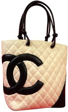 2facd590f5eeea Chanel Cambon leather tote Chanel Cambon, Luxury Bags, Shopping Totes,  Chanel Handbags,