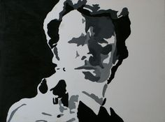 Clint+Eastwood+Dirty+Harry+Pop+Art+Painting+#PopArt
