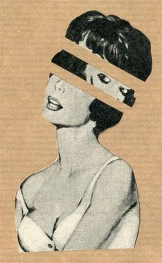 Headache (Handmade Collage) by Kieran Sperring - Art Ideas Collages, Collage Art, Art And Illustration, Photomontage, Migraine Art, Newspaper Art, Art Inspo, Pop Art, Art Photography