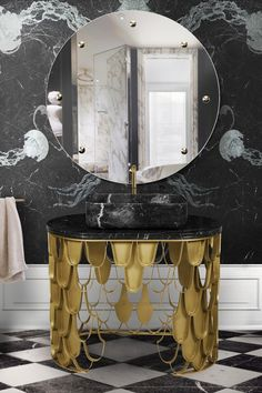 Maison Valentina is a luxury brand specialized in high-end bathroom furniture. Mirror Inspiration, Interior Inspiration, Bathroom Colors, Bathroom Ideas, Bathroom Furniture, Contemporary Home Furniture, Bathroom Design Luxury, Modern Interior Design, Inspired
