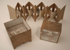 artist books - cheryl coon. figure out how to make the back on - shouldn't be too difficult