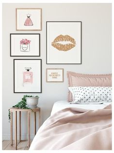 Teenage Girl Bedroom Decor, Girl Bedroom Walls, Teen Girl Rooms, Bedroom Wall Colors, Teen Room Decor, Room Ideas Bedroom, Girls Bedroom Ideas Teenagers, Dream Bedroom, Teen Bedroom