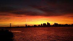 Espectacular atardecer en Santa Fe Argentina Costa, Celestial, Sunset, Outdoor, Santa Fe, Littoral Zone, Sunsets, Rosaries, Hard Hats