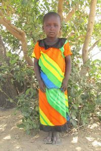 This sweet little girl is Souglimani. She lives in Burkina Faso with her family where she is responsible for running errands. Souglimani has been waiting 202 days for a sponsor.