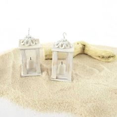 Reserved listing Wooden lanterns for dollhouse in by MairiTales