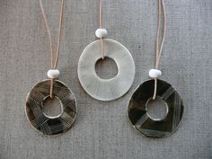lets make ceramic jewelry