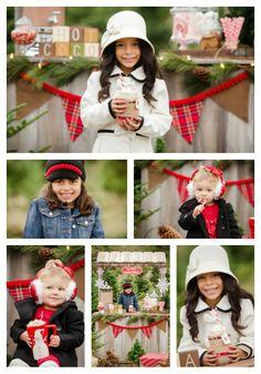 Hot Cocoa stand, Mini session, christmas photo, christmas photography, tree farm,