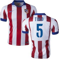 Tiago Mendes #5 Atletico Madrid 15/16 Home Jersey