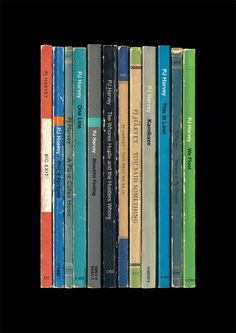 PJ Harvey 'Stories from the City Stories from the Sea' Album As Penguin Books Poster Print Literary Print