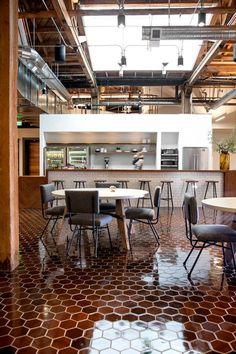 GitHub /San Francisco / États-Unis / Studio Hatch / break room