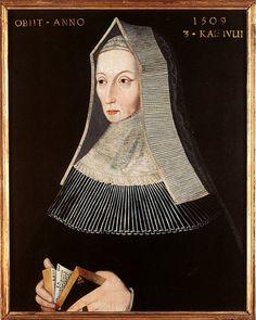 Margaret Beaufort Tudor, wife of Edward Tudor and mother of King Henry VII. Grandmother of Henry VIII. Uk History, Tudor History, European History, British History, Family History, Lancaster, Rey Enrique Viii, Dinastia Tudor, Tudor Rose