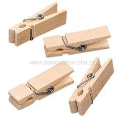 Kolíčky střední 45x13mm 10ks