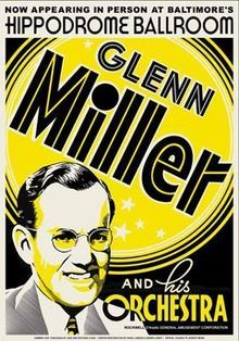 """Feb. 11, 1942 – The first gold record is presented to Glenn Miller for """"Chattanooga Choo Choo"""".  Click pic to read -       Chattanooga Choo Choo: The Life and Times of the World Famous Glenn Miller Orchestra"""