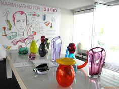 New collection designed by Karim Rashid for Purho
