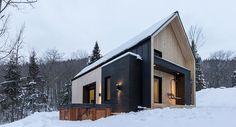 Villa Boreale, cabin in Charlevoix by Cargo Architecture