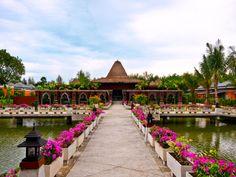 Entrance way to the Spa at Beyond Resort Khao Lak, Thailand