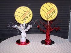 This is awesome !!!    Enjoy, like repin !        basketball centerpieces ideas - Google Search
